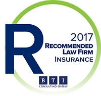 BTI recommended firms in insurance