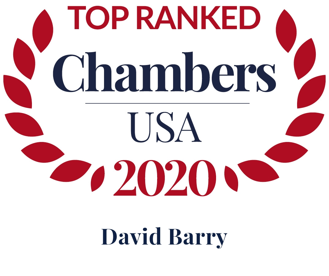 Dave Barry Ranked in Chambers USA 2020