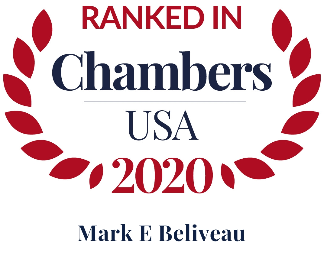 Mark Beliveau Ranked in Chambers USA 2020