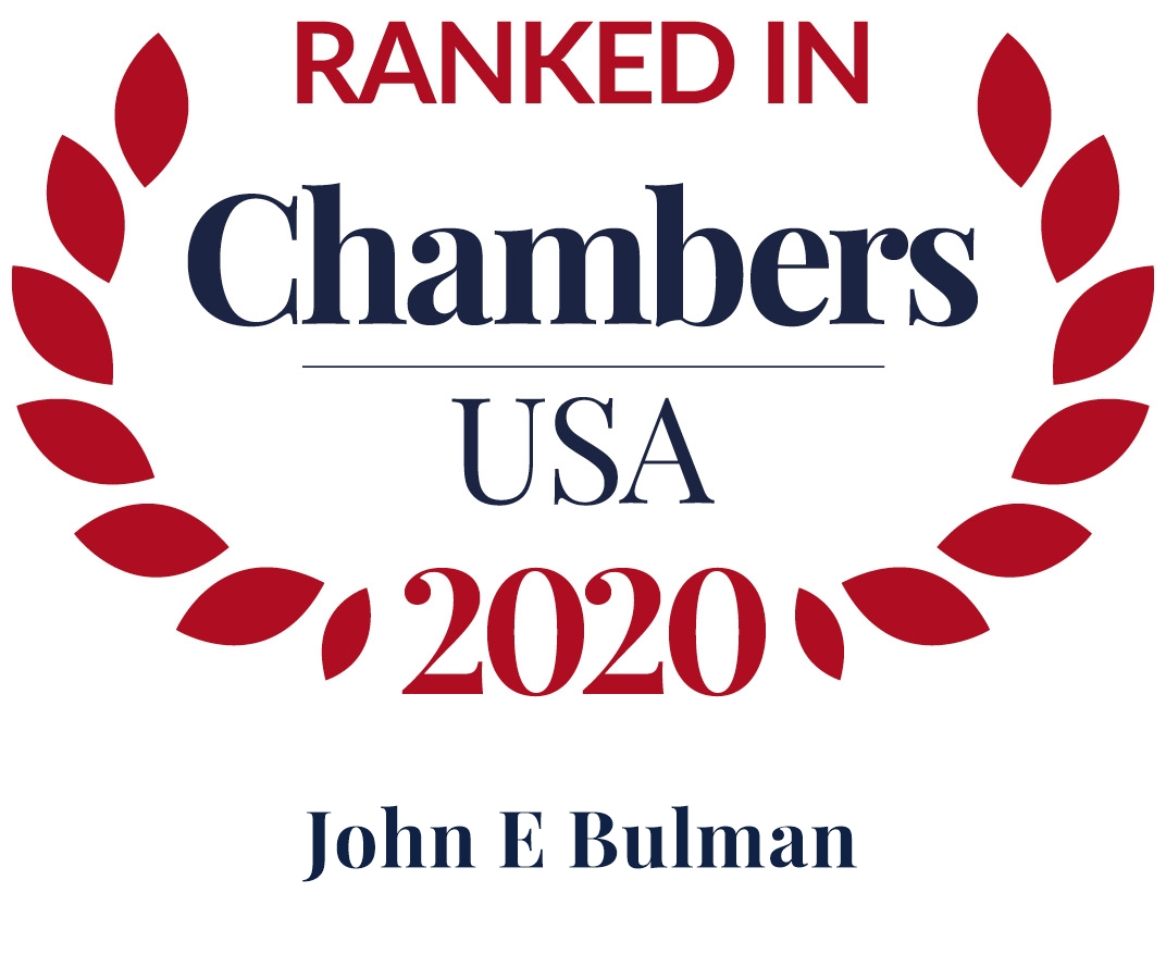 John Bulman Ranked in Chambers USA 2020