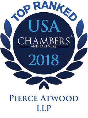 Pierce Atwood Chambers 2018 recognitions