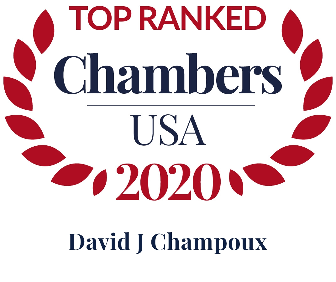 David Champoux Ranked in Chambers USA 2020