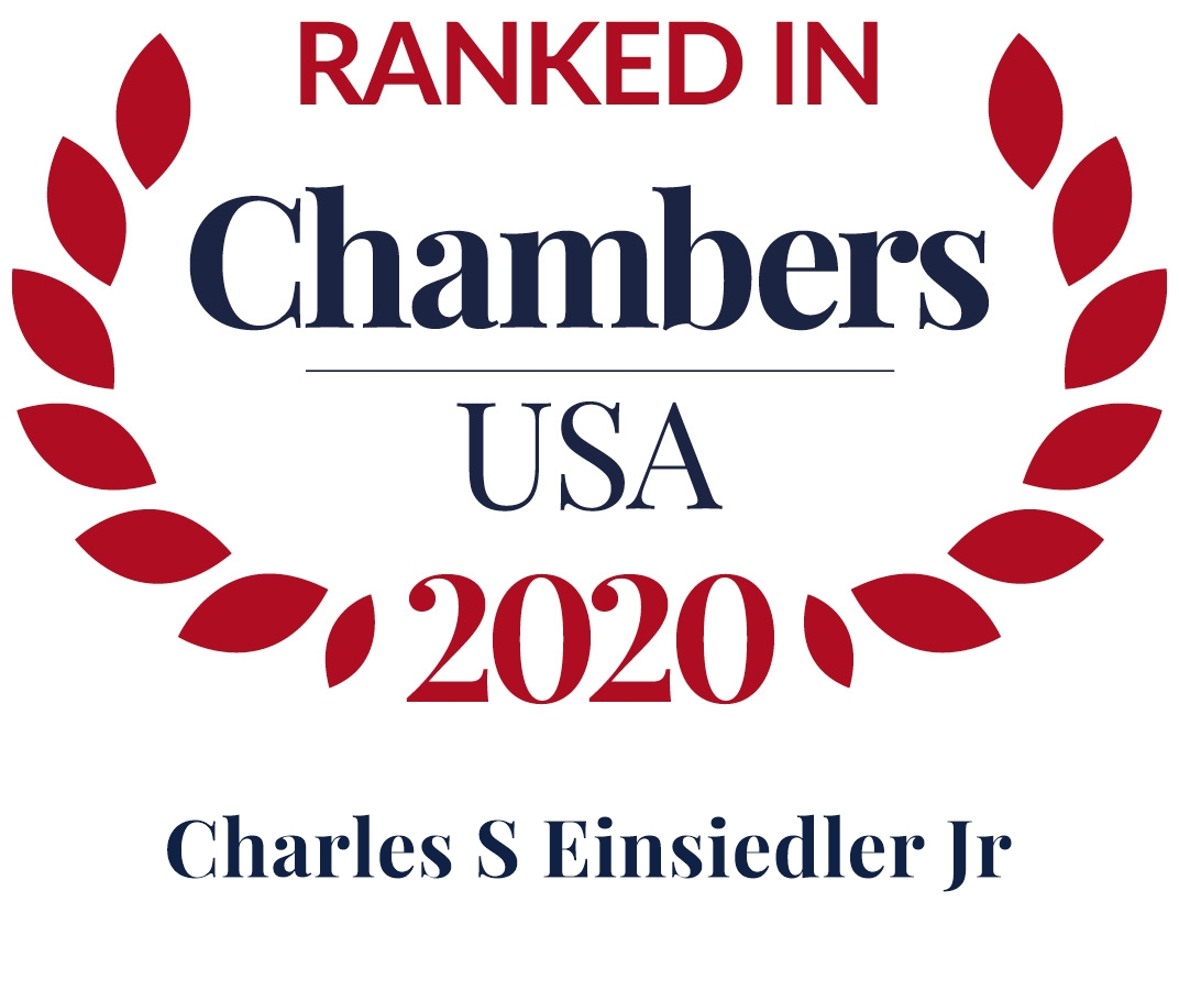 Charles Einsiedler Ranked in Chambers USA 2020