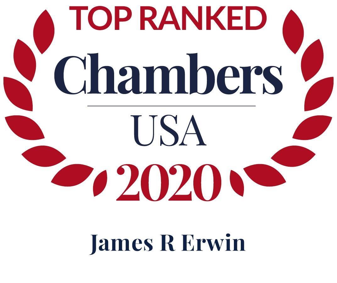 Jim Erwin Ranked in Chambers USA 2020