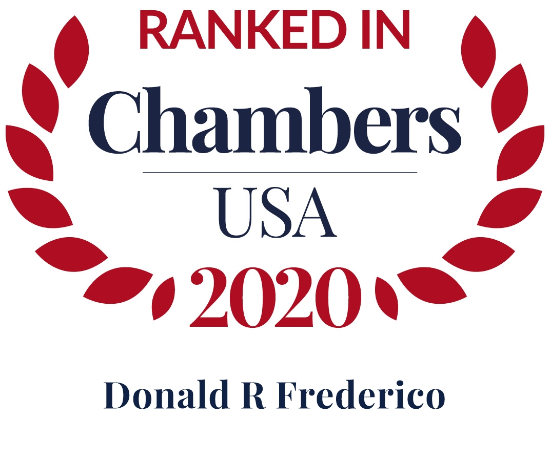 Don Frederico Ranked in Chambers USA 2020