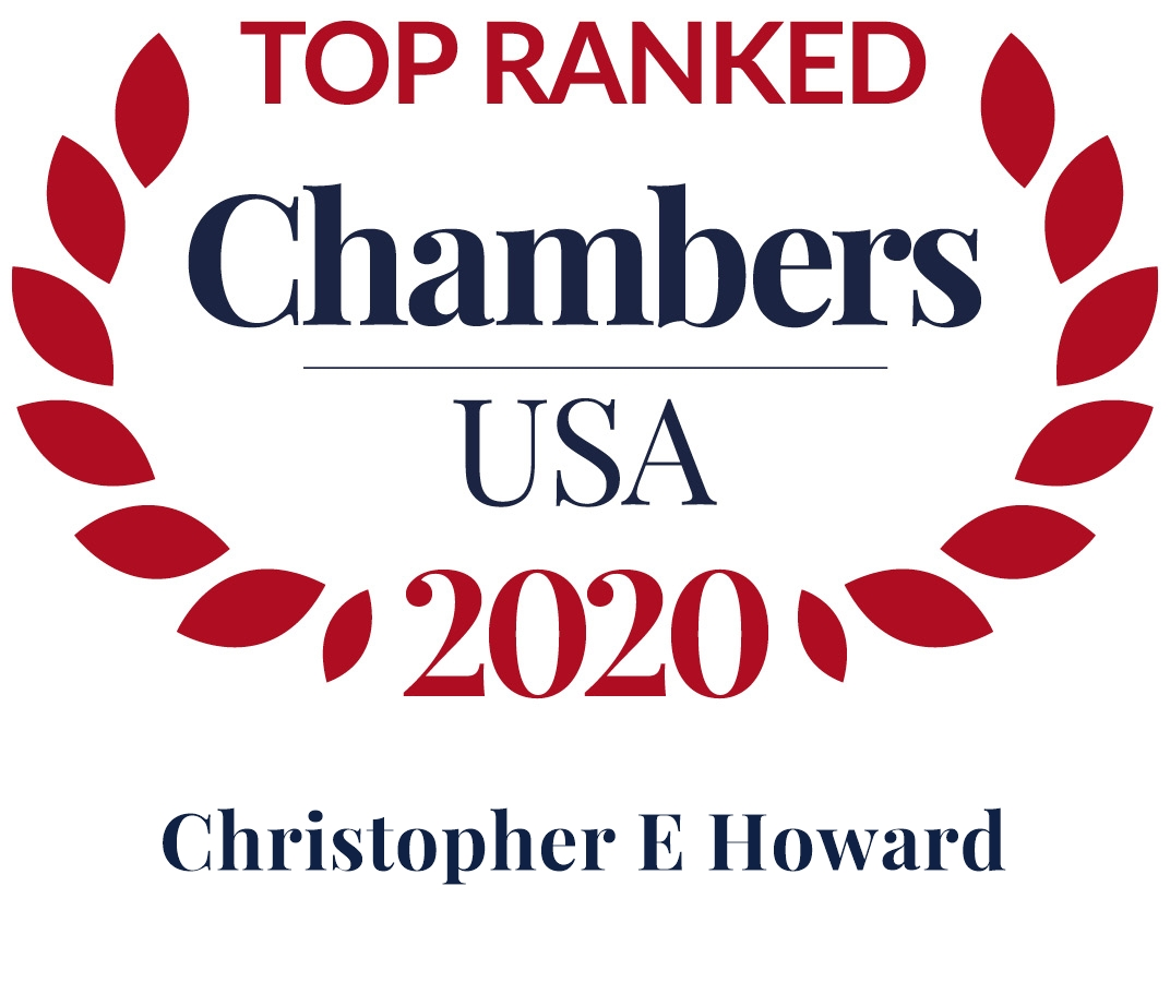 Chris Howard Ranked in Chambers USA 2020