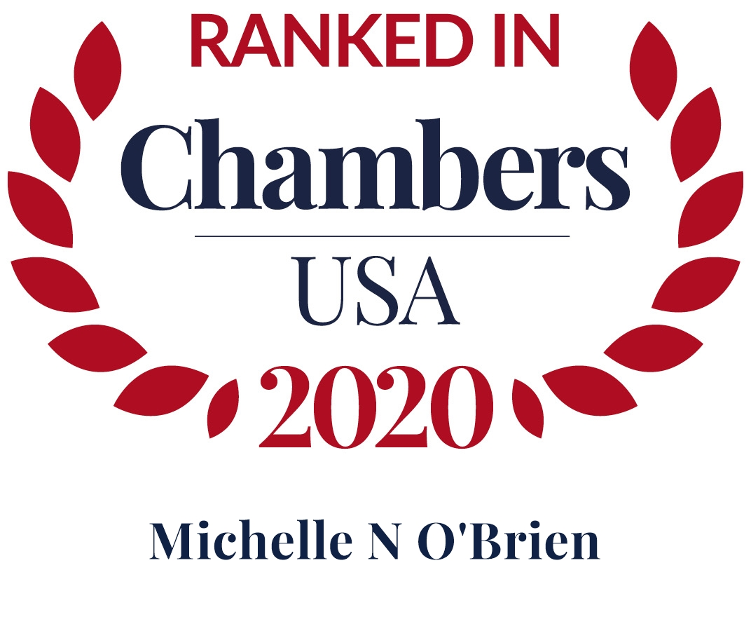 Michelle O'Brien Ranked in Chambers USA 2020