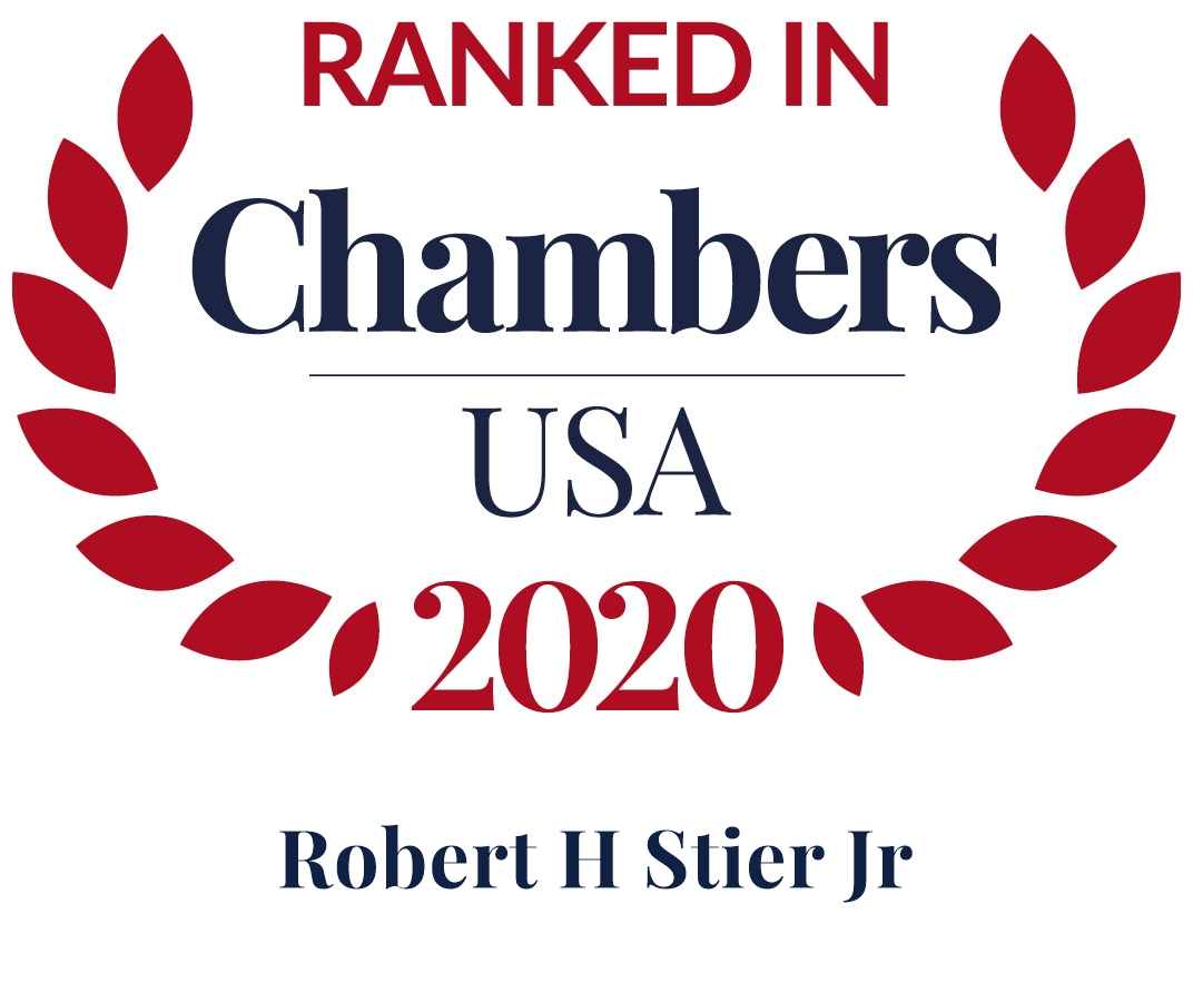 Robert Stier Ranked in Chambers USA 2020