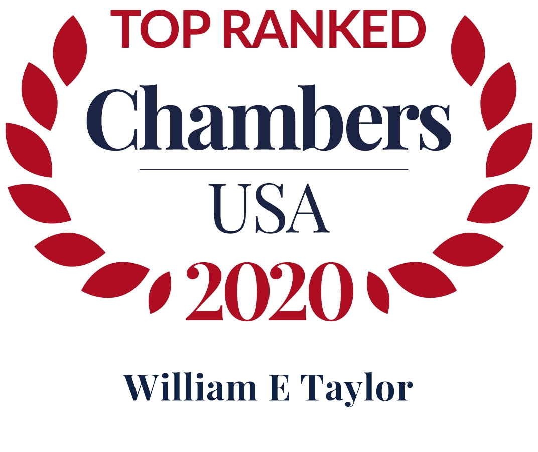 Bill Taylor Ranked in Chambers USA 2020