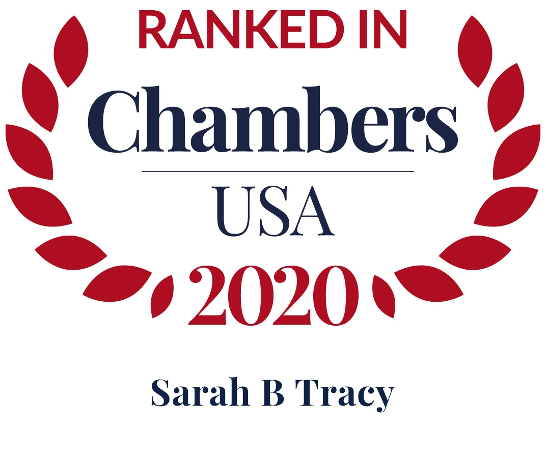 Sarah Tracy Ranked in Chambers USA 2020